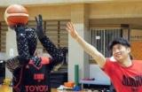 Toyota створила робота-баскетболіста