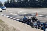 Поліцейський на конфіскованому мотоциклі розбив три авто